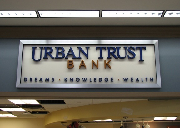 Lobby / Logo Signs   Manaroneck   White Plans   Scarsdale NY