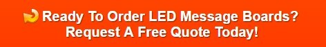 LED message boards for White Plains NY