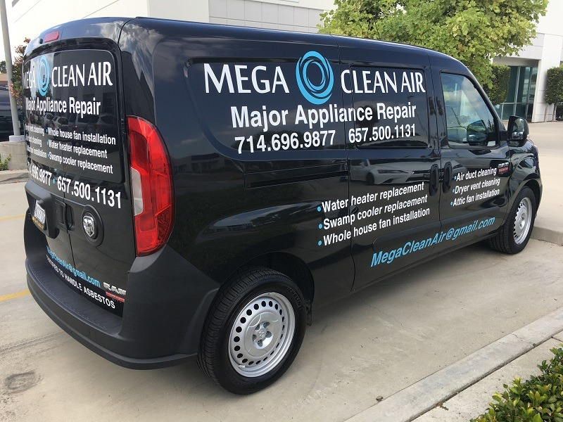 contractor work van graphics in White Plains NY