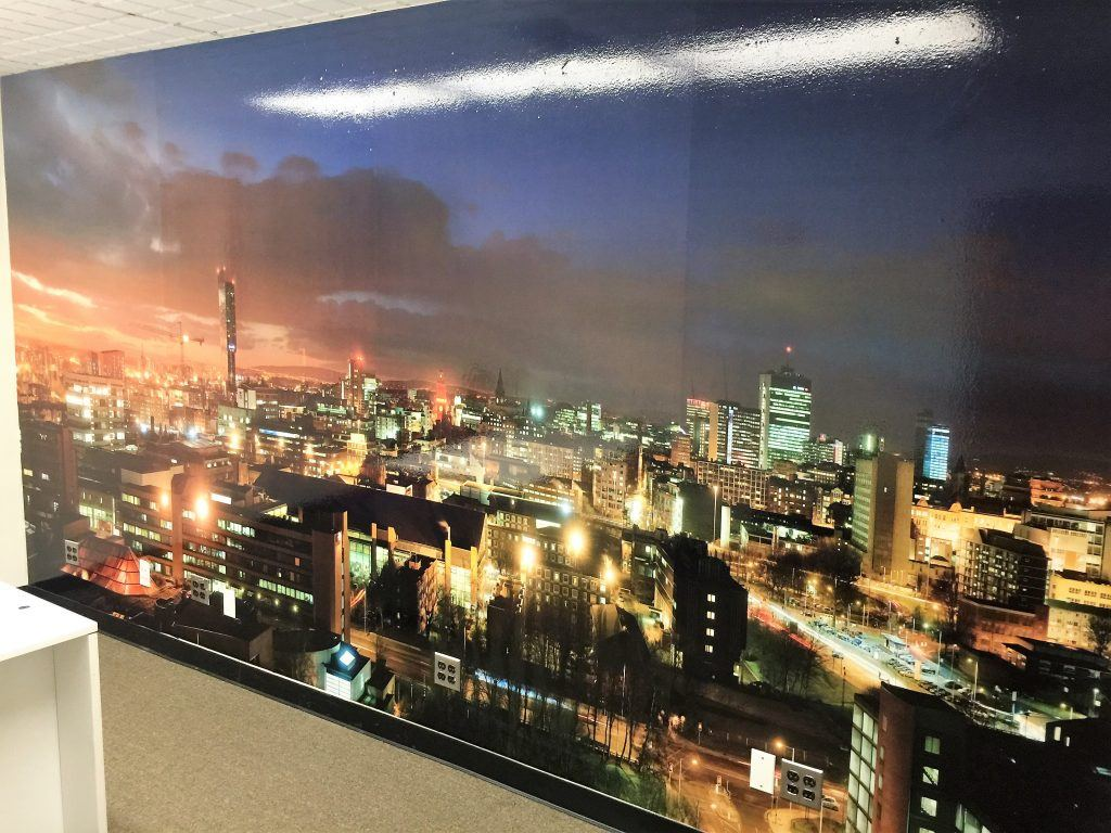 wall murals and office vinyl graphics in White Plains NY