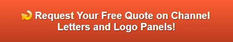 Free quote on channel letters and logo panels